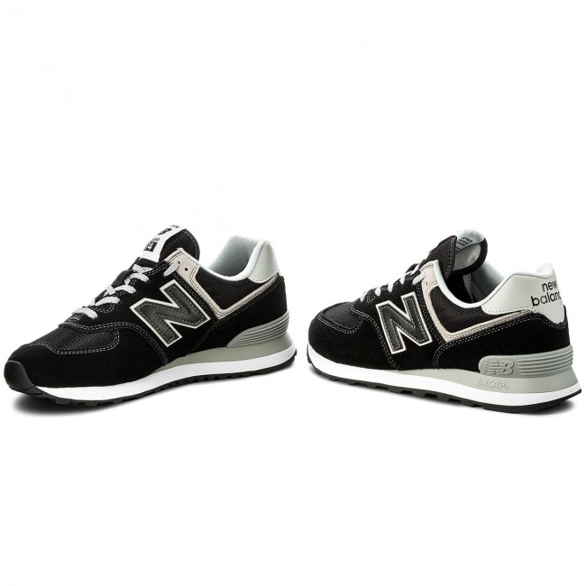 Cipő NEW BALANCE - ML574EGK Fekete Szürke - Sneakers - Félcipő ... 431564dea3