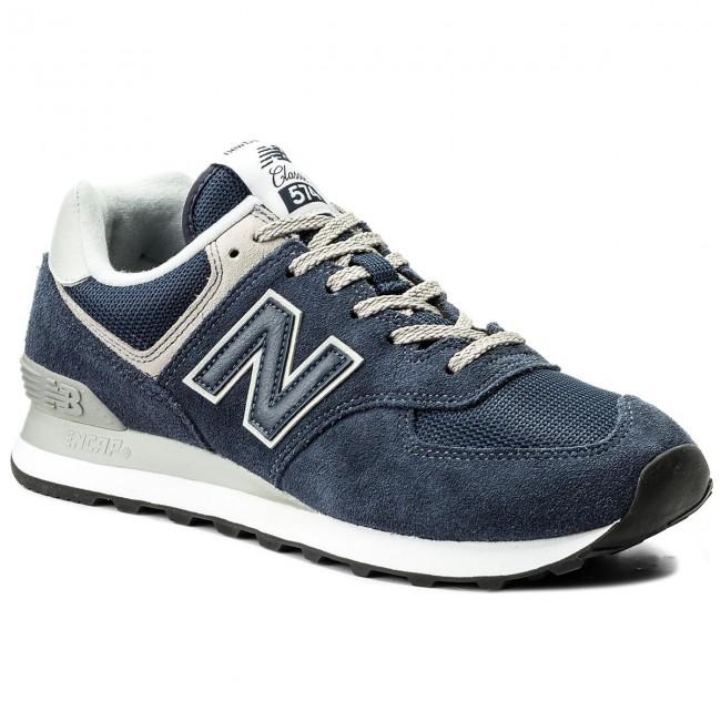 Sportcipő NEW BALANCE - ML574EGN Sötétkék - Sneakers - Félcipő ... 66d3622601