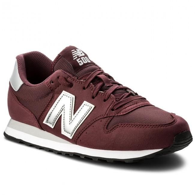 Sportcipő NEW BALANCE - GM500BUS Bordó - Sneakers - Félcipő - Férfi ... e4556cb050