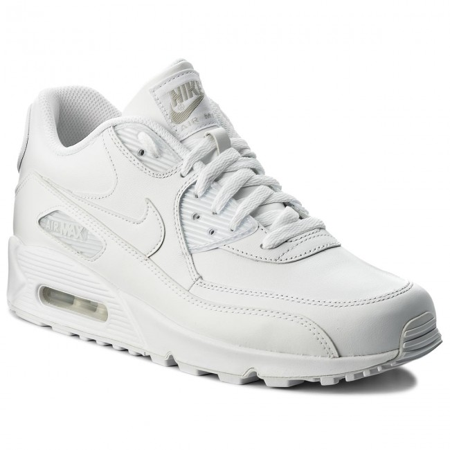 Cipő NIKE - Air Max 90 Leather 302519 113 True White True White ... c67f5f6238