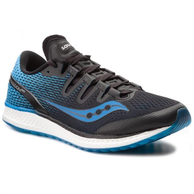 Cipő SAUCONY - Freedom Iso S20355-7 Blk Blu - Edzőcipők - Futócipők ... 4ec3324c40