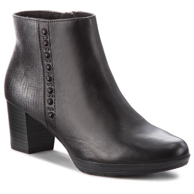 Magasított cipő MARCO TOZZI - 2-25388-31 Black Ant.Comb 096 ... db88a9bdd6