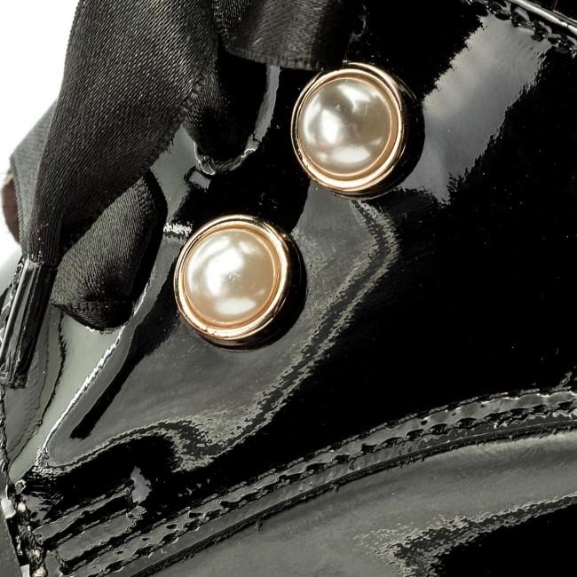 b48f9bd4f7 Oxford cipők EKSBUT - 28-4982-121-1G Fekete - Oxford - Félcipő - Női ...