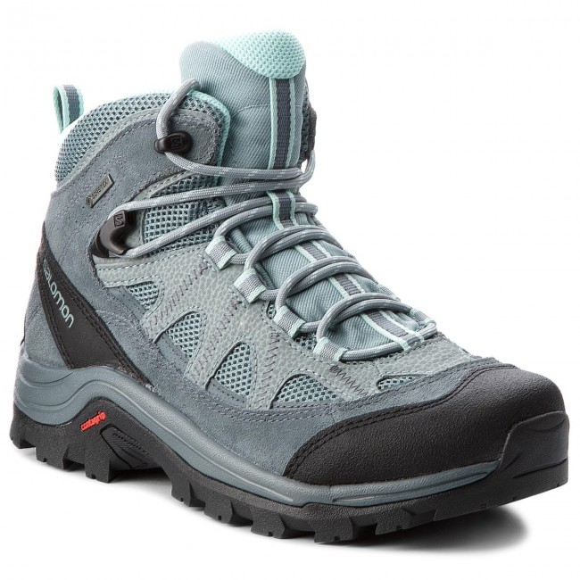 Bakancs SALOMON - Authentic Ltr Gtx W GORE-TEX 404644 21 V0 Lead Stormy f285cf197b