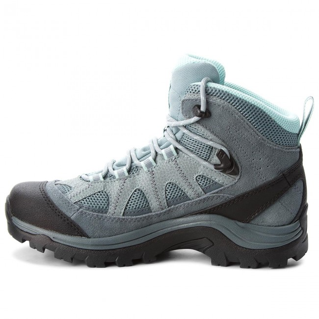 Bakancs SALOMON - Authentic Ltr Gtx W GORE-TEX 404644 21 V0 Lead Stormy  Weather Eggshell Blue - Túracipő - Félcipő - Női - www.ecipo.hu bd953ab74a