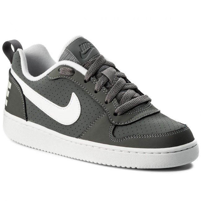 10dbd0ca0b Cipő NIKE - Court Borough Low (GS) 839985 002 Cool Grey/White ...