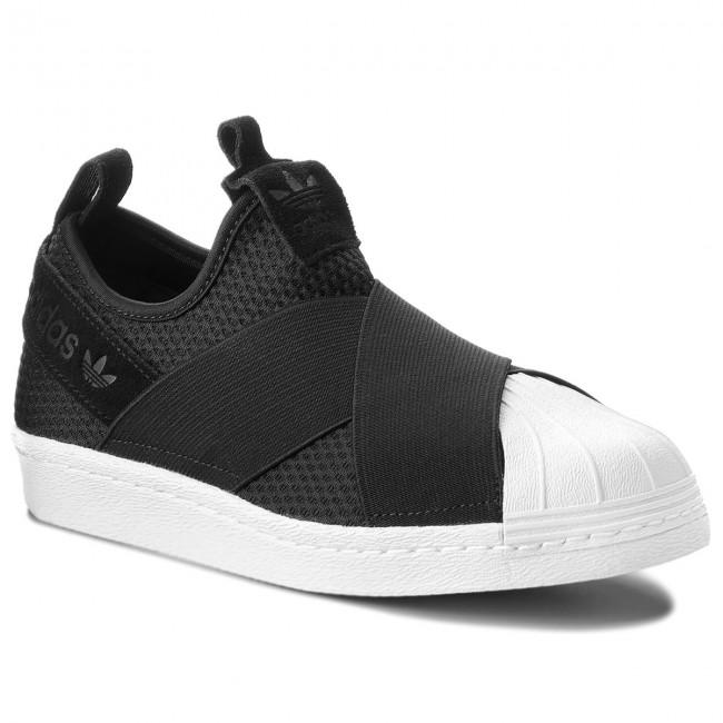 Cipő adidas - Superstar Slip On W B37193 Cblack Cblack Ftwwht ... fa00d2fed4