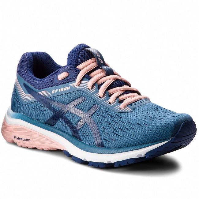 Cipő ASICS - GT-1000 7 1012A030 Azure Blue Print 400 - Edzőcipők ... d0f6b26638