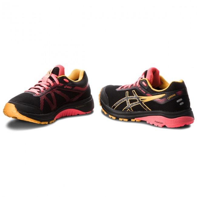 Cipő ASICS - GT-1000 7 G-Tx GORE-TEX 1012A031 Black Amber 001 - Túra ... 3966c1db92