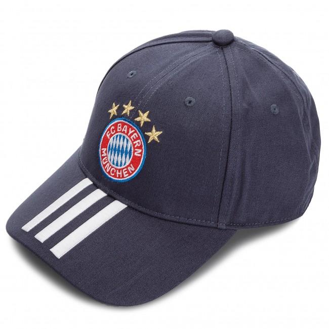 Baseball sapka adidas - Fcb 3S Cap DI0247 Utiblu White Bleuti Blanc ... 6887a60384