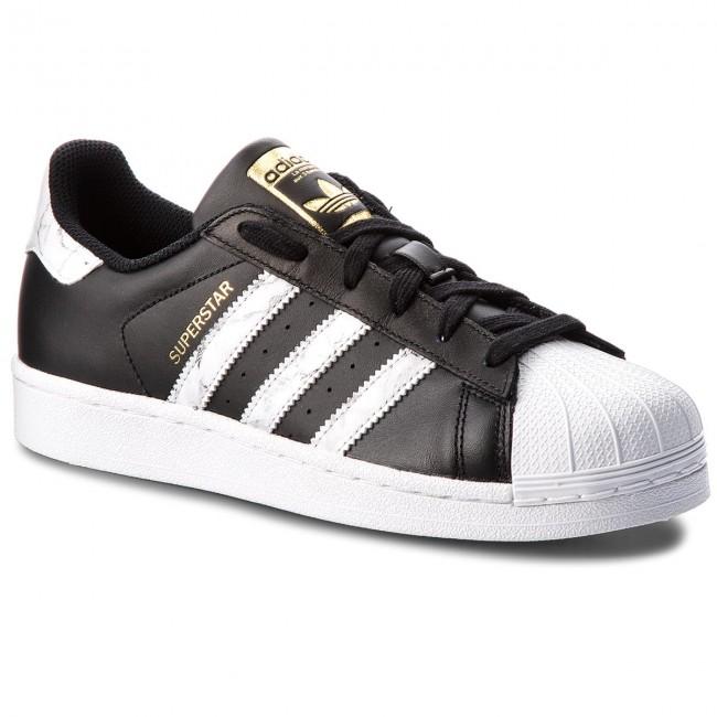 Cipő adidas - Superstar D96800 Cblack Ftwwht Gold.F - Sneakers ... 022fe42bf9