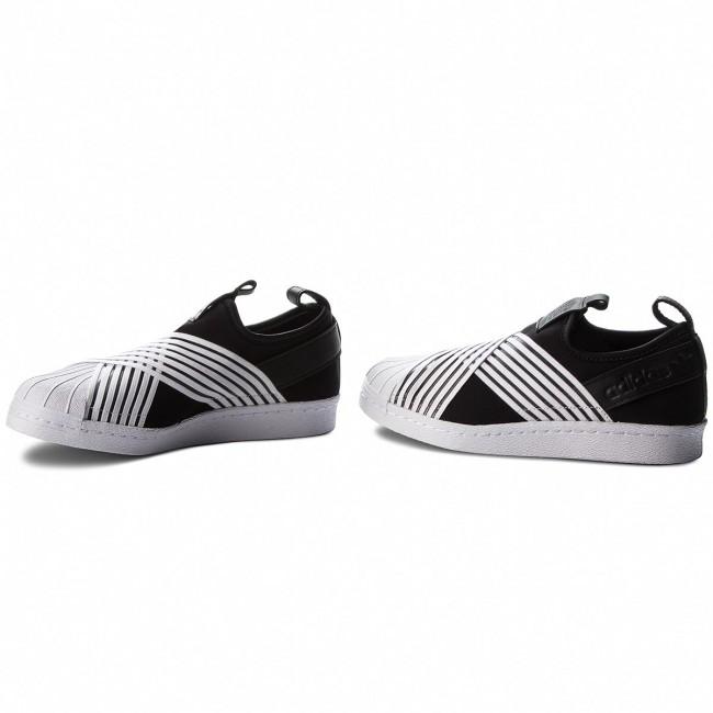 Cipő adidas - Superstar Slip On W D96703 Cblack Ftwwht Ftwwht ... d8c7a7248c