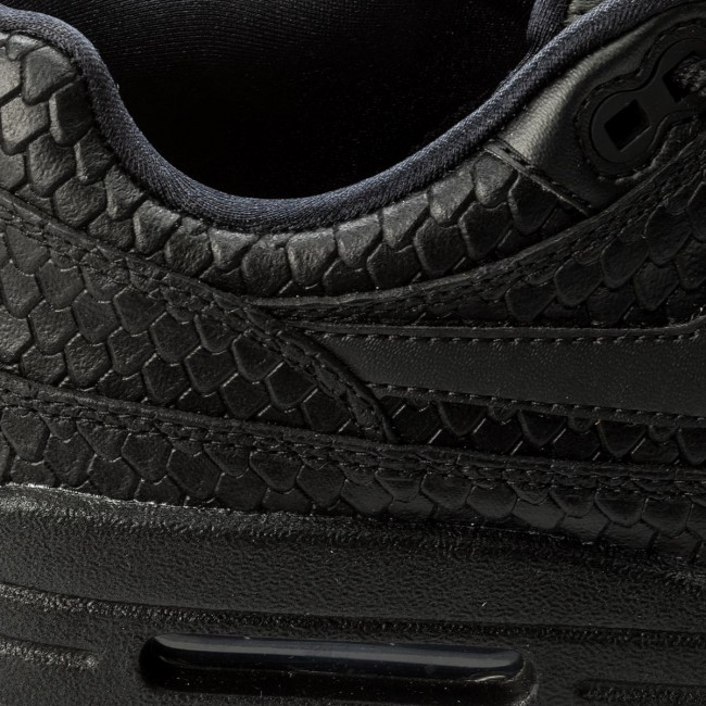 new style 5827a 48077 Cipő NIKE - Air Max 1 Prm 454746 014 Black Black Anthracite