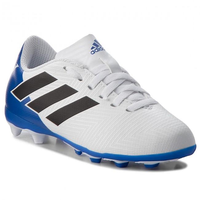 Cipő adidas - Nemeziz Messi 18.4 FxG J DB2369 Ftwwht Cblack Fooblu ... efb715b501
