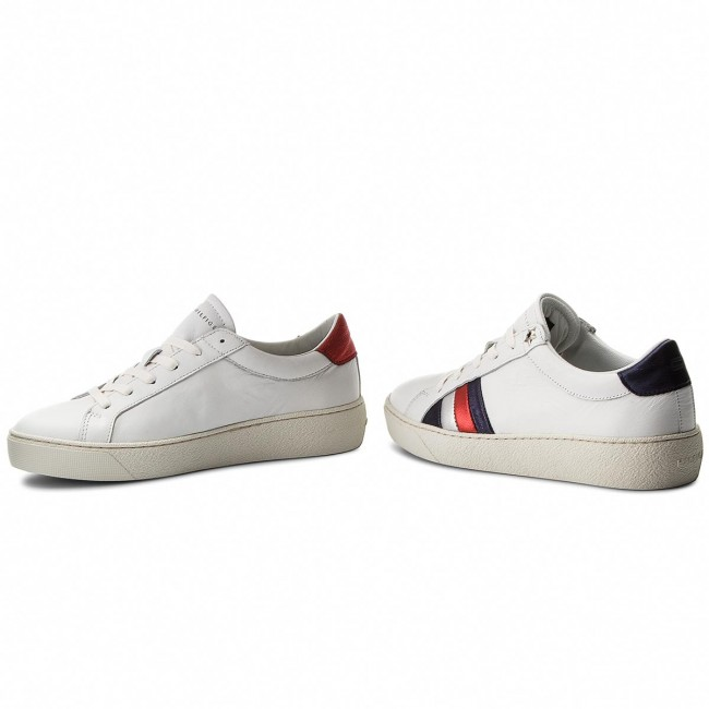 311662ec7c Sportcipő TOMMY HILFIGER - Corporate Iconic Sneaker FW0FW03458 White 100