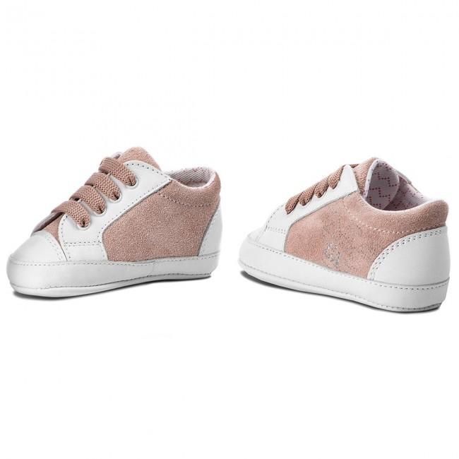 Sportcipő EMPORIO ARMANI - XLX001 XON06 D908 White Pink - Fűzős ... b351ae4658