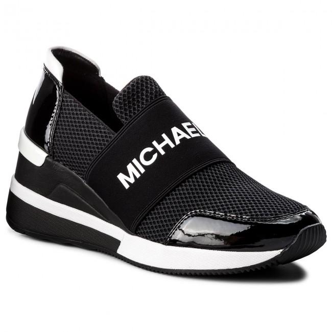 168fbdc449 Sportcipő MICHAEL MICHAEL KORS - Felix Trainer 43T8FXFS3D Black ...