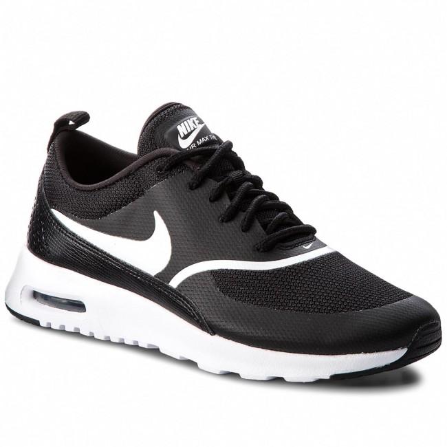 8c0ee96bbb9f Cipő NIKE - Air Max Thea 599409 028 Black/White - Sneakers - Félcipő ...