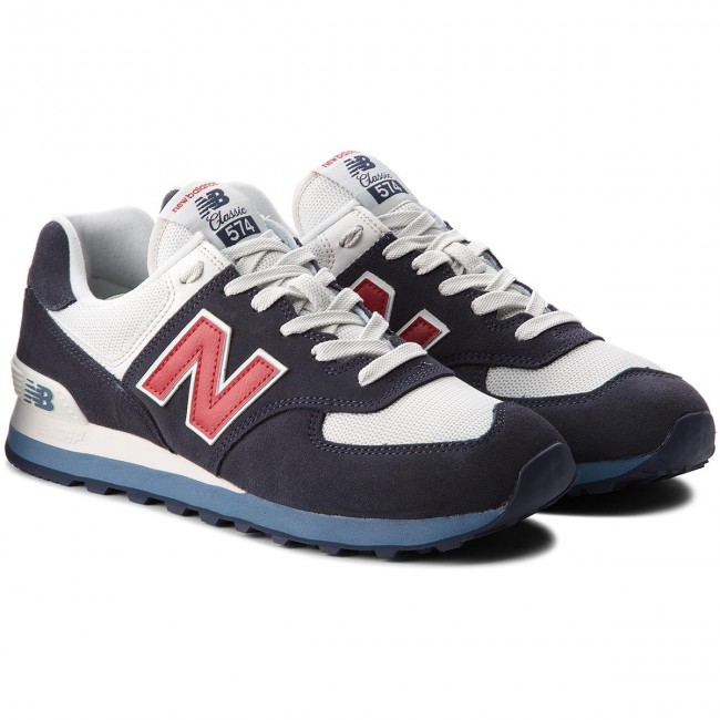 7666c2cac8 Sportcipő NEW BALANCE - ML574ESC Sötétkék - Sneakers - Félcipő - Férfi -  www.ecipo.hu