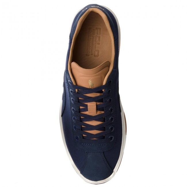 Sportcipő POLO RALPH LAUREN - Court100 809710293004 Navy - Sneakers ... ab37bf7ab6