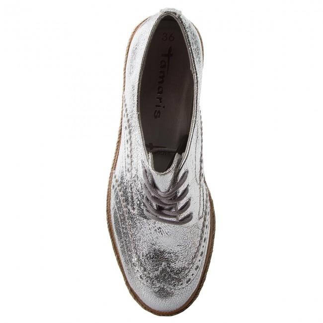 Oxford cipők TAMARIS 1 23709 20 Silver Crack 944 (46 db