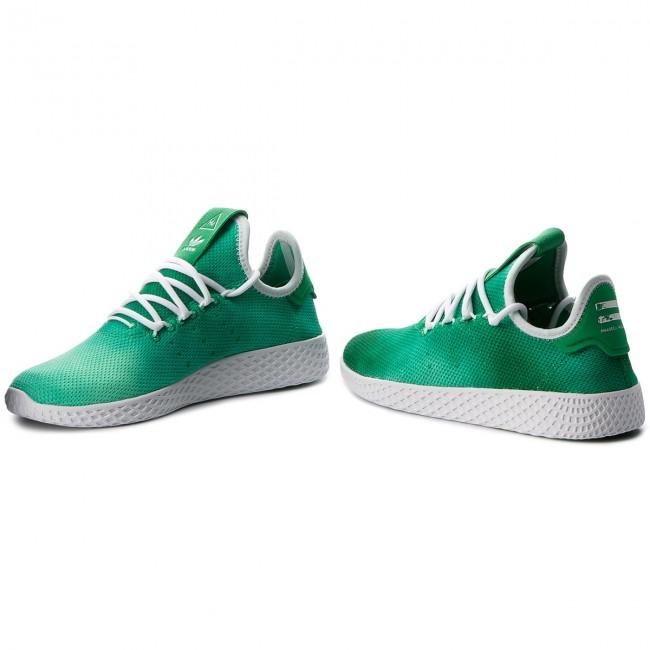 Cipő adidas - Pw Hu Holi Tennis Hu DA9619 Green Ftwr White Ftwr White 712483ce29