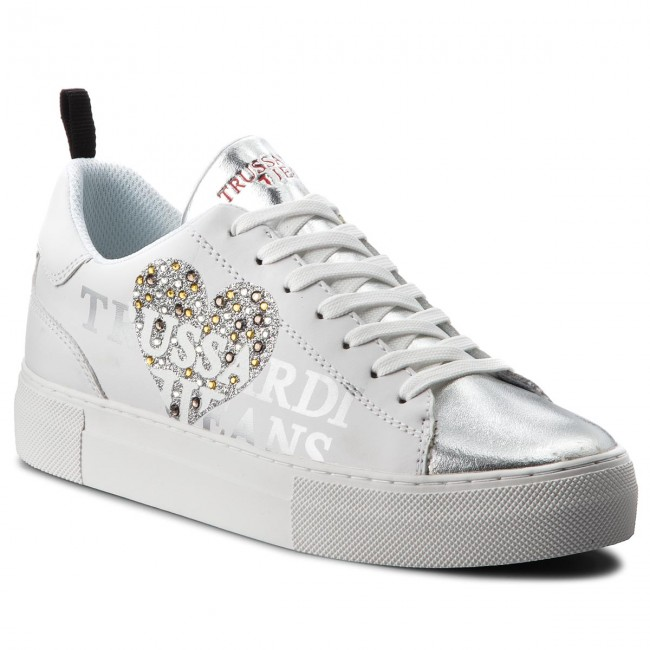 e1d742f25f Sportcipő TRUSSARDI JEANS - 79A00234 W001 - Sneakers - Félcipő - Női ...