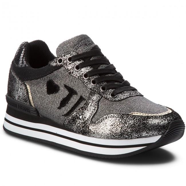 81e96845d8 Sportcipő TRUSSARDI JEANS - 79A00245 K299 - Sneakers - Félcipő - Női ...