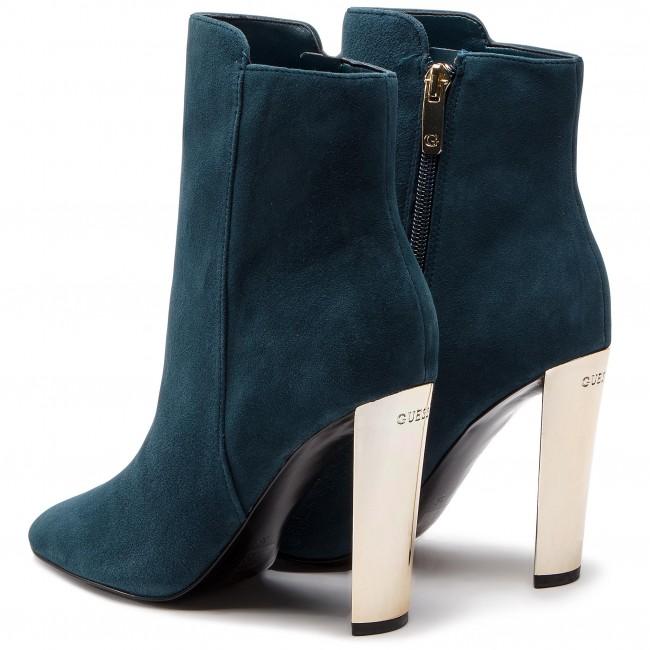 Magasított cipő GUESS - FLKIY4 SUE10 DTEAL - Magasított cipők ... 8ebbcf7c7c