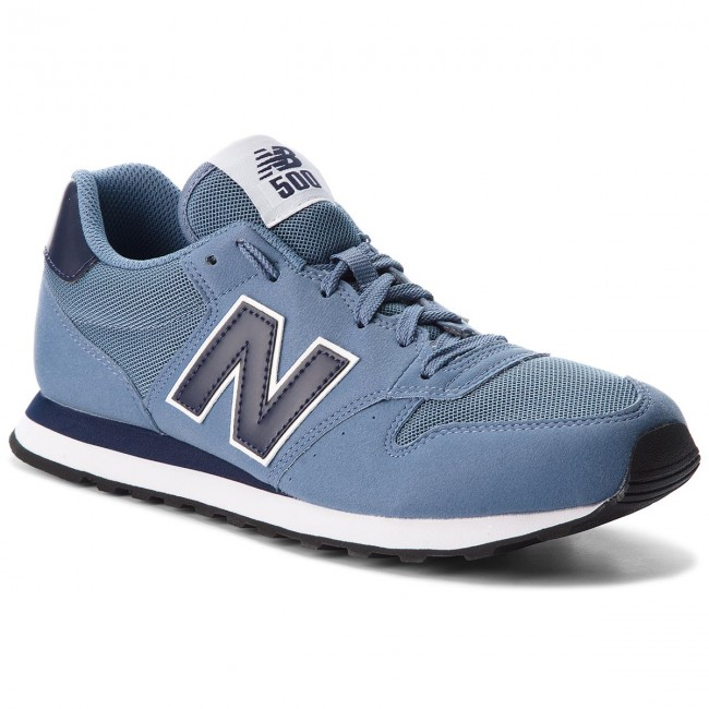 Sportcipő NEW BALANCE - GM500BBN Kék - Sneakers - Félcipő - Férfi ... c9269a95af