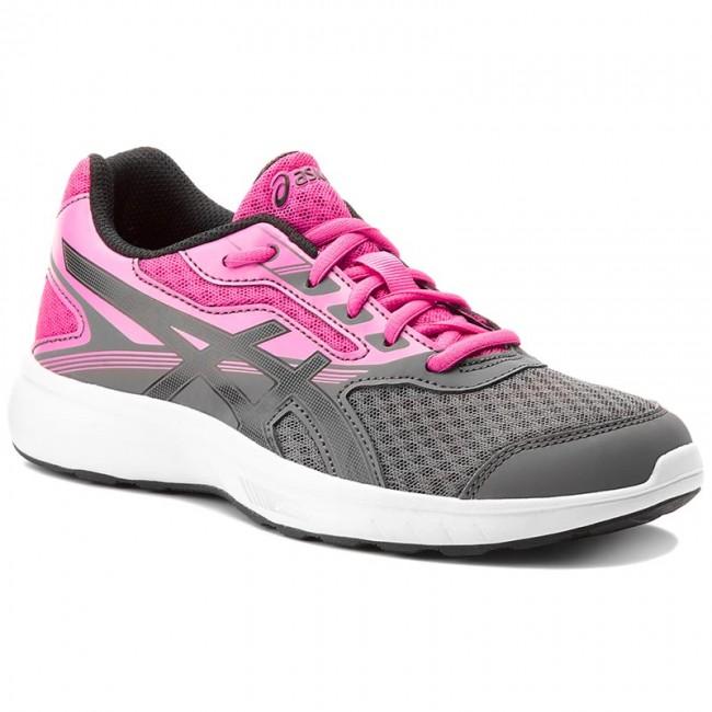 Cipő ASICS - Stormer T791N Carbon Black Pink Glow 9790 - Edzőcipők ... 65fa53ece0