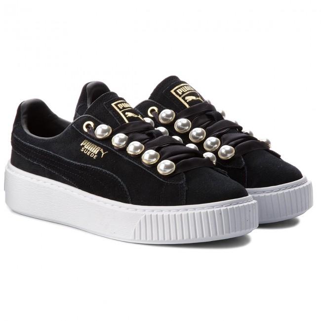 Sportcipő PUMA - Suede Platform Bling Wn s 366688 01 Puma Black Puma Black  - Sneakers - Félcipő - Női - www.ecipo.hu c711bed98c