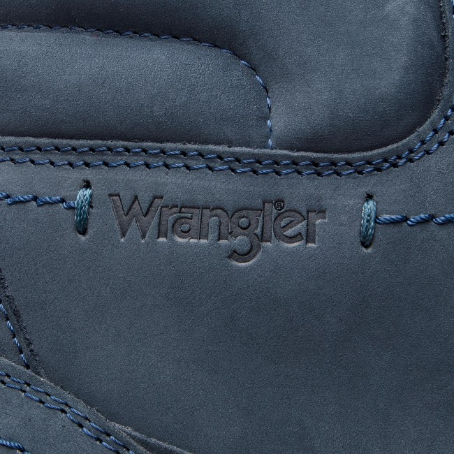 Magasított cipő WRANGLER - Tucson Lady Nubuck WL182510 Jeans 118 ... cb50f44d82