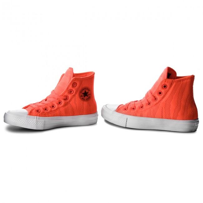 Tornacipő CONVERSE - Ctas II Hi 155492C Hyper Orange White Gum ... 43a37d933a