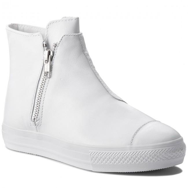Sportcipő CONVERSE - Ctas High Line Premium Leather 553313C  White White White 1722ede677