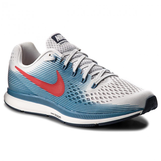 Cipő NIKE - Air Zoom Pegasus 34 880555 016 Vast Grey University Red ... d66dd09f882af