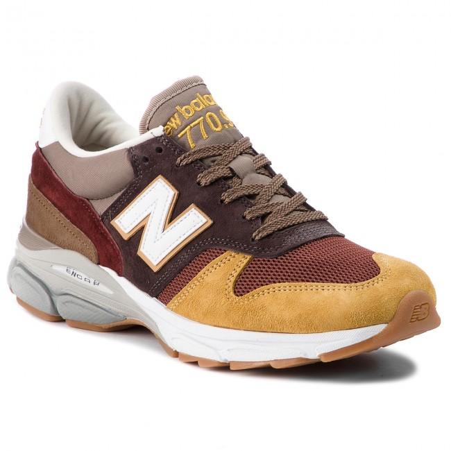 Sportcipő NEW BALANCE - M7709FT Barna - Sneakers - Félcipő - Férfi ... 1ef415b9bb