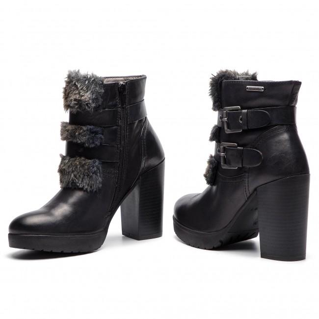 Magasított cipő BUGATTI - 411-55931-1069-1011 Black/Dark Grey - Bokacsizmák - Csizmák és egyebek - Női zrNTv