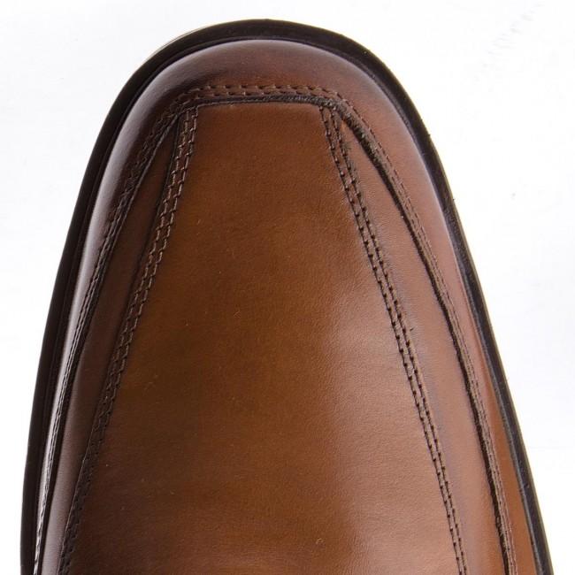 Félcipő CLARKS - Tilden Free 261300987 Dark Tan Leather - Alkalmi - Félcipő - Férfi c5WyE