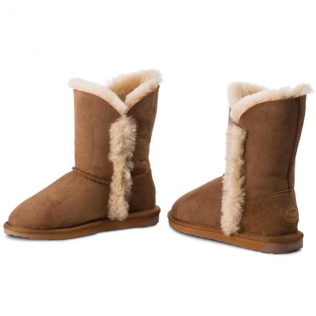 Cipő EMU AUSTRALIA - Kolora Lo W11903 Chestnut - EMU csizma ... ac1ba183a0