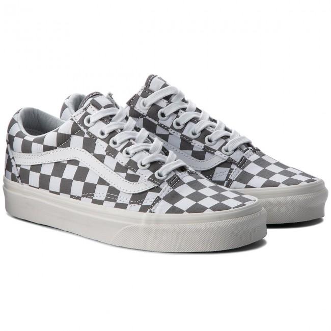 Teniszcipő VANS Old Skool VN0A38G1U53 (Checkerboard) PewterMarshmallow