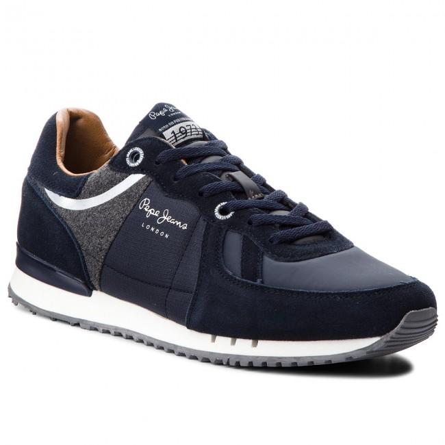 Sportcipő PEPE JEANS - Tinker PMS30484 Navy 595 - Sneakers - Félcipő ... 0b0ca755d4