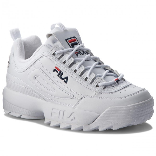 566cba5303 Sportcipő FILA - Disruptor Low 1010262.1FG White - Sneakers ...