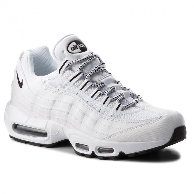 Cipő NIKE - Air Max 95 609048 109 White Black Black - Sneakers ... c43ac233be