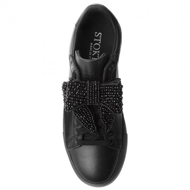 671 Neroacc Sportcipő Vitello Fw18 Stokton Sneakers D Nero qWfnA56Bfc