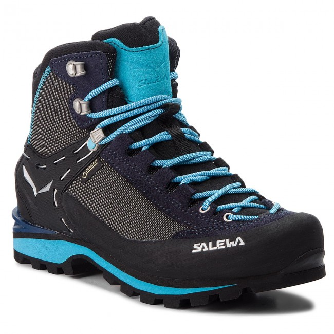 Bakancs SALEWA - Crow Gtx GORE-TEX 61329-3985 Premium Navy Ethernal Blue 1cea690fb2