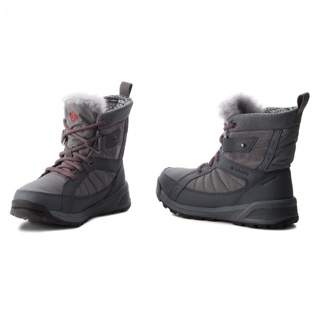 Hótaposó COLUMBIA - Meadows Shorty Omni-Heat 3D BL5966 Ti Grey  Steel Marsala Red 505b16b507