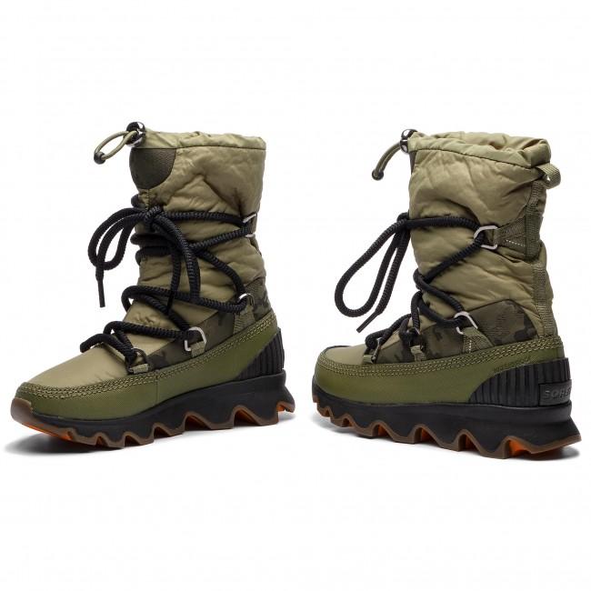 Hótaposó SOREL - Kinetic Boot NL3101 Hiker Green Black 371 ... a4c348f84e