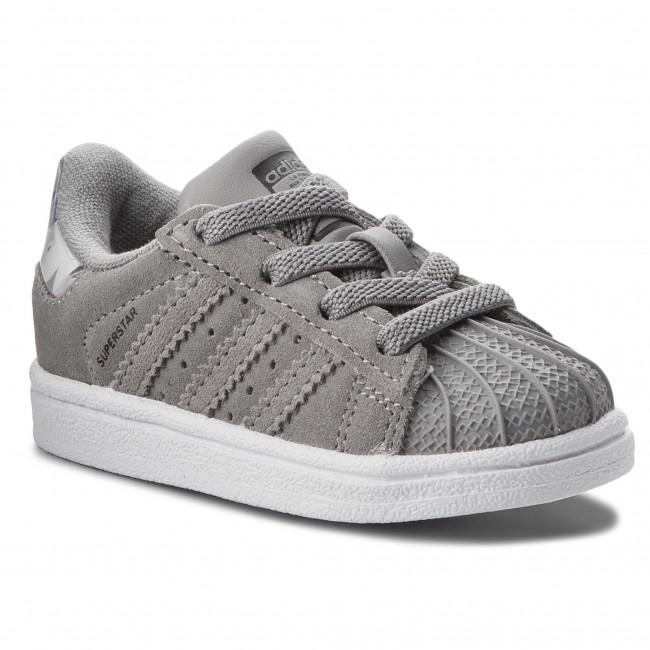 53d2eb1ea7 Cipő adidas - Superstar El I B37284 Chsogr/Chsogr/Ftwwht - Fűzős ...