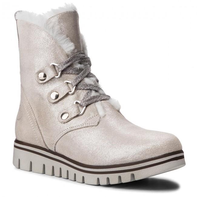 Magasított cipő MARCO TOZZI - 2-26288-21 White Metallic 132 ... e527272449